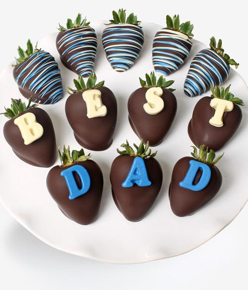 Best Dad - Strawberry Dipped Box